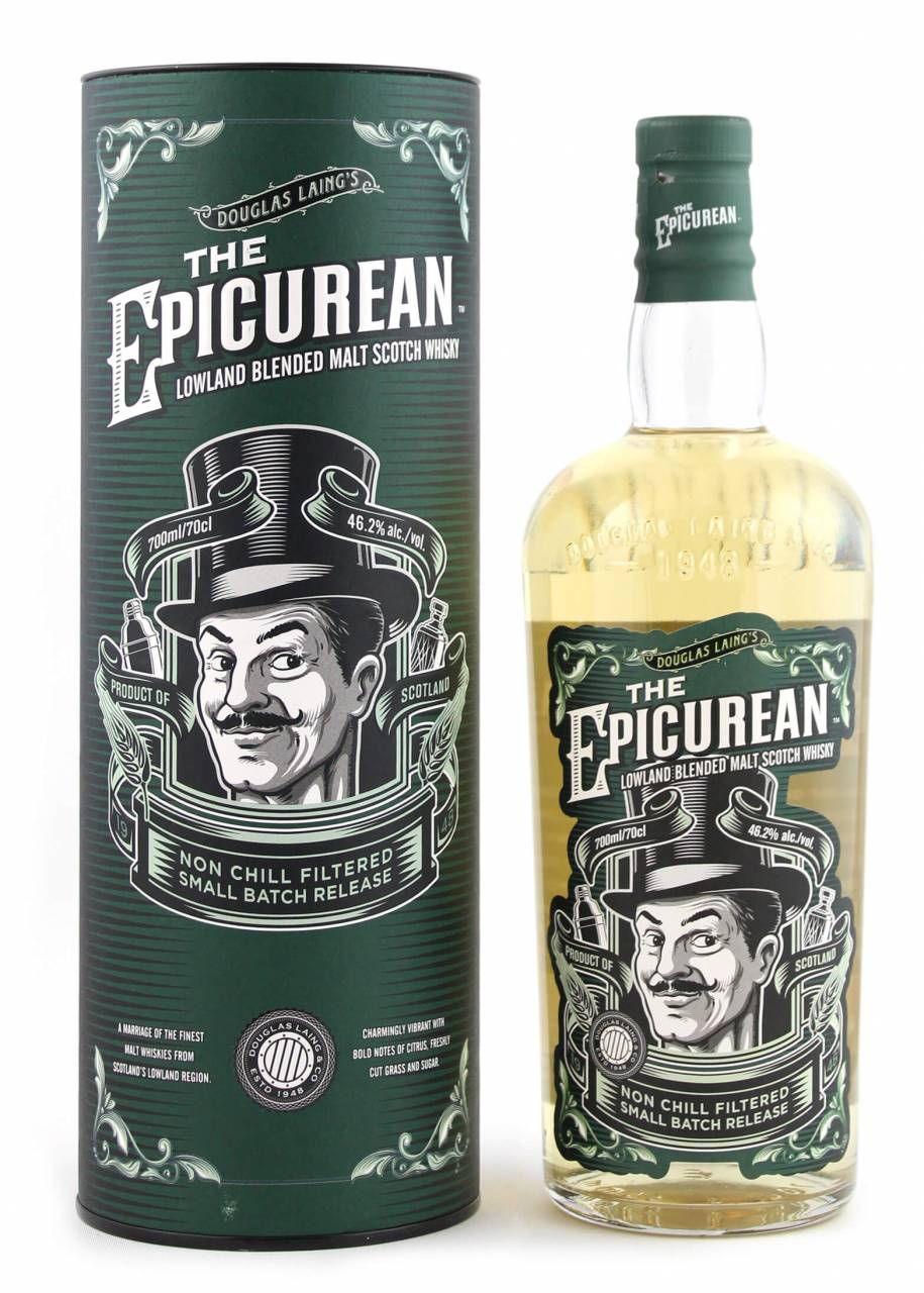 The Epicurean Blended Whisky Douglas Laing´s 0,...