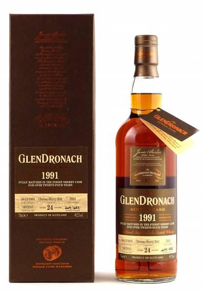 GlenDronach 1991 #2683 24 Jahre Batch 14 0,7 Liter