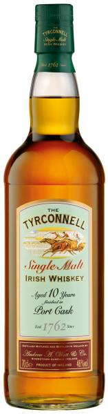 Tyrconnell 10 Jahre Port Wood Finish 0,7 Liter