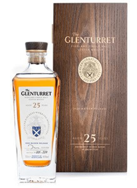 Glenturret 25 Jahre 0,7l in edler Holzkiste