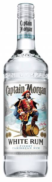 Captain Morgan White Rum 0,7 Liter