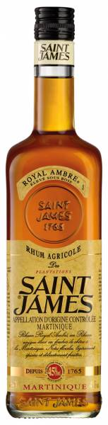 Saint James Royal Ambre 0,7 Liter
