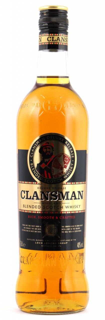 Clansman Blended Scotch Whisky 0,7l