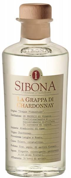 Sibona Grappa di Chardonnay 0,5l