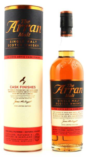 Arran Malt Côte-Rôtie Finish Whisky 0,7l