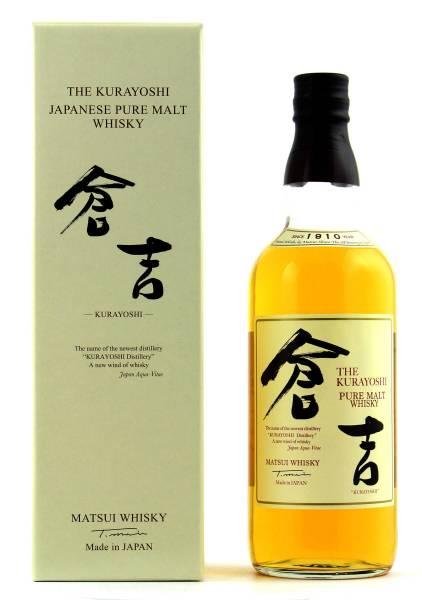 The Kurayoshi Pure Malt Japan Whisky 0,7l
