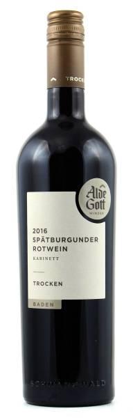 Alde Gott Spätburgunder Kabinett trocken Rotwein 0,75l