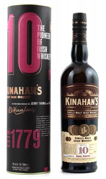Kinahans 10 Jahre Single Malt 0,7l
