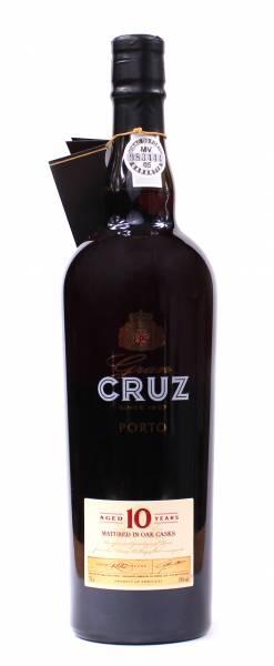 Porto Cruz 10 years old Tawny Port Portwein 0,75 Liter