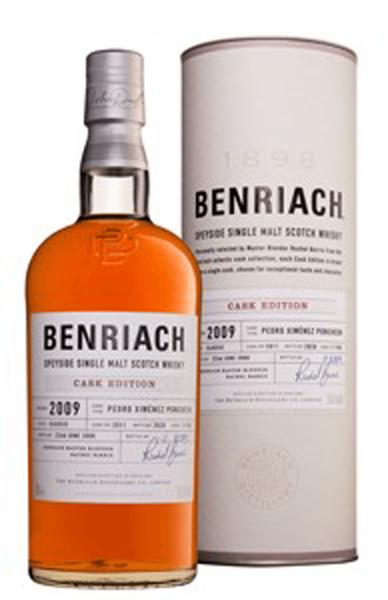 Benriach Cask Edition 11 Jahre 2009 Cask 3911 0,7l
