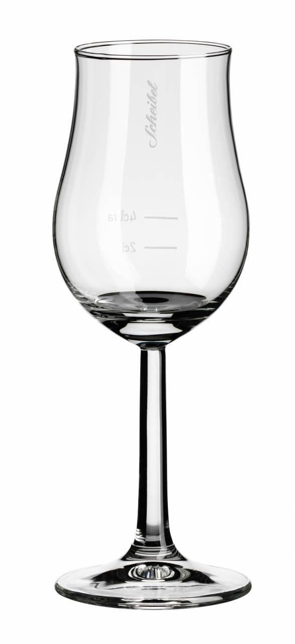 Scheibel Aroma Glas geeicht
