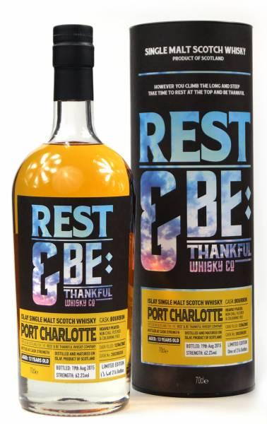 Port Charlotte 13 Jahre 2002 Bourbon 62,2% Rest & Be 0,7 Liter