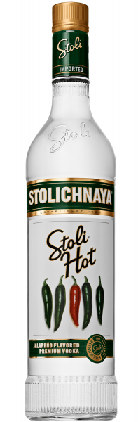 Stolichnaya Hot 0,7 Liter