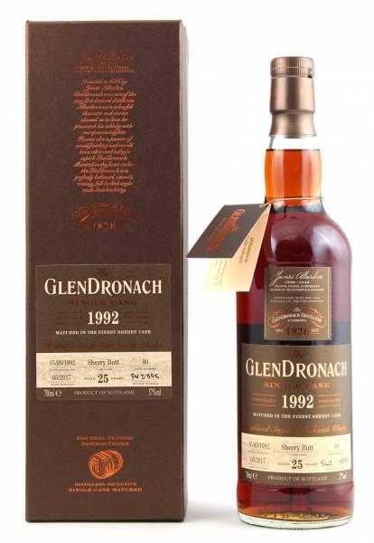 GlenDronach 1992 #89 25 Jahre Batch 15 0,7l