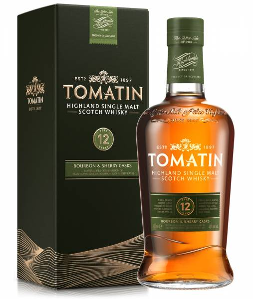 Tomatin 12 Jahre 43% Highland Single Malt