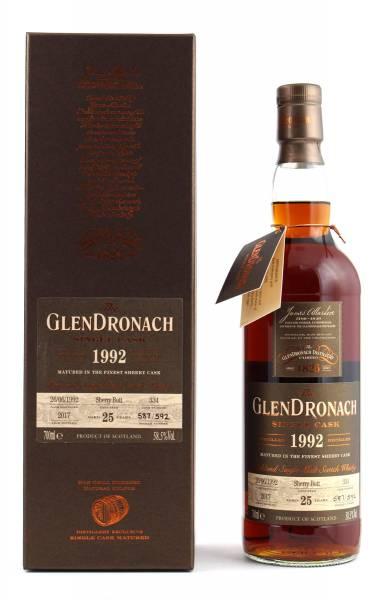 GlenDronach 1992 #334 25 Jahre Batch 16 0,7l