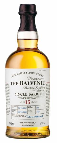 The Balvenie Single Barrel 15 Jahre Sherry Cask 0,7 Liter