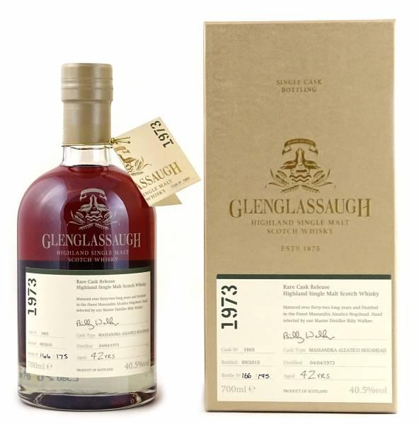 Glenglassaugh 42 Jahre 1973 #1865 Rare Cask 0,7 Liter