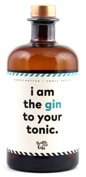 i am the gin to your tonic - Flaschenpost Gin 0,5l