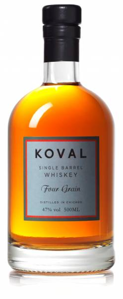 Koval Four Grain Whiskey Single Barrel 47% 0,5l