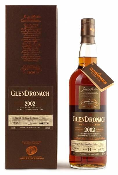 GlenDronach 2002 #1504 14 Jahre Batch 14 0,7 Liter