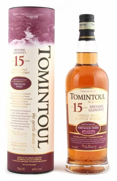 Tomintoul 15 Jahre Portwood Finish 0,7 Liter