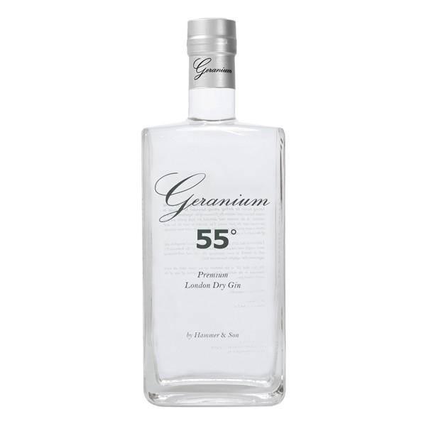 Geranium 55° Overproof London Dry Gin 0,7 Liter