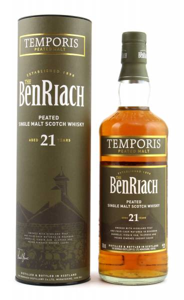 BenRiach Temporis 21 Jahre Peated 0,7l
