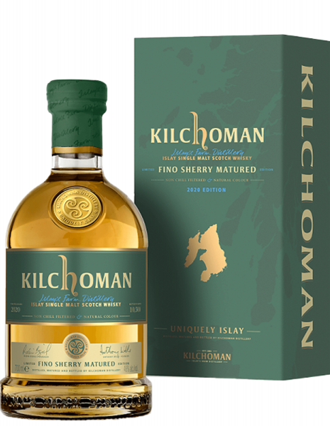 Kilchoman Fino Sherry Matured - 2020 Edition 0,7 Liter
