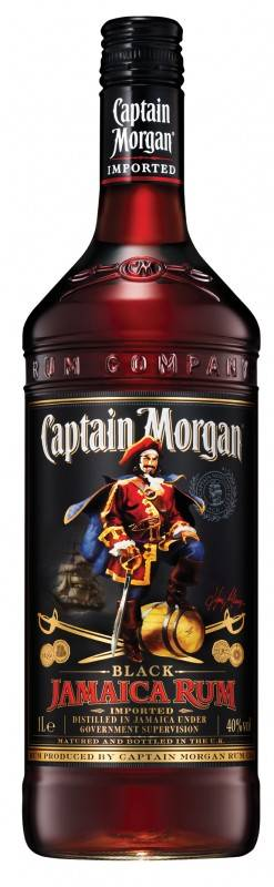 Captain Morgan Black Label 1 Liter