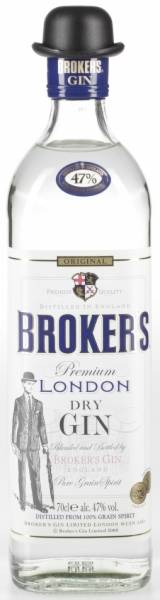 Broker's Gin 47% Vol. 0,7 Liter