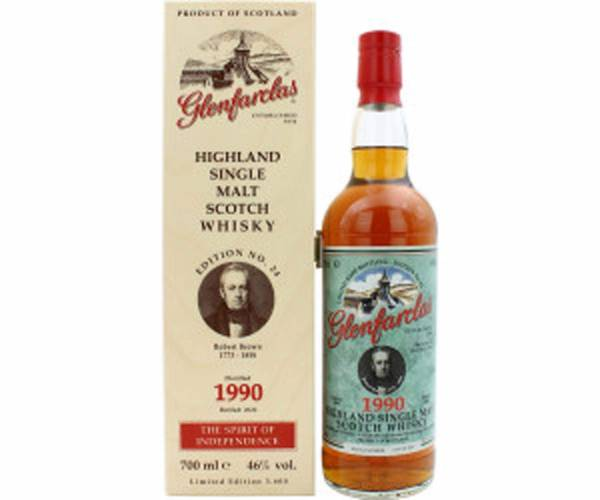 Glenfarclas 1990/2020 Edition No.24 Robert Brown 0,7l