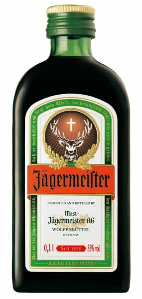 Jägermeister 12 x 0,1 Liter