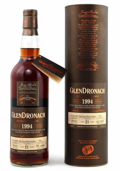 GlenDronach 21 Jahre Exclusive Cask #3213 1994 0,7 Liter