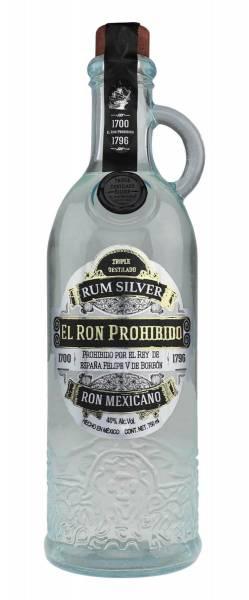 El Ron Prohibido Rum Silver 0,7 Liter