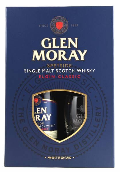 Glen Moray Elgin Classic + 2 Gläser 0,7 Liter