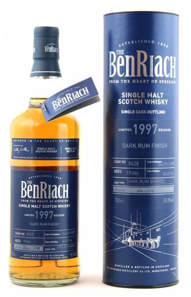 BenRiach 19 Jahre 1997 Dark Rum #8628 0,7 Liter