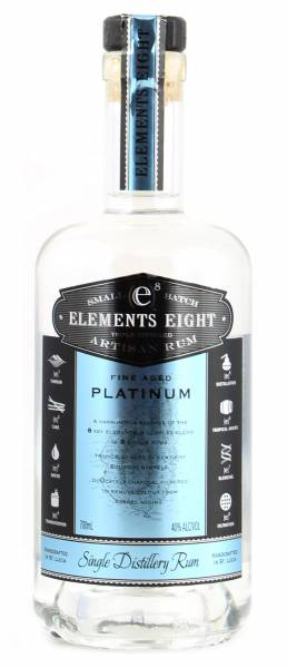 Elements 8 Platinum Rum 0,7 Liter