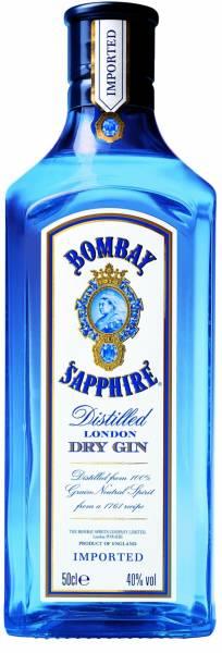 Bombay Sapphire 0,7 Liter