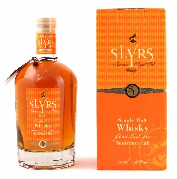 Slyrs Sauternes Fass Single Malt Whisky 0,7l