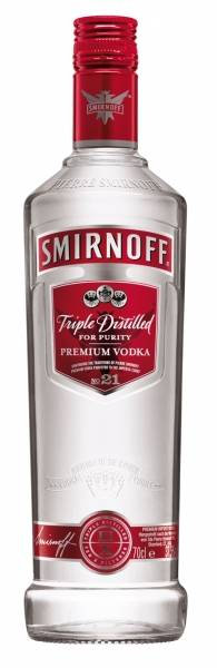 Smirnoff Vodka Red Label 0,7 Liter