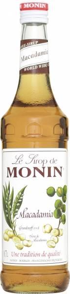 Monin Macadamia Nuss Sirup 0,7 Liter