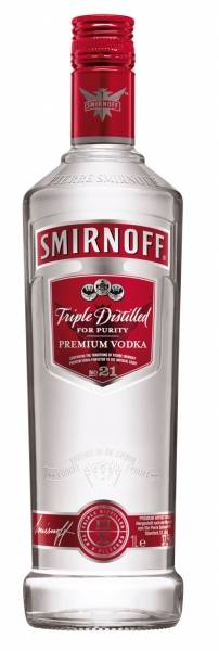 Smirnoff Vodka Red Label 1 Liter