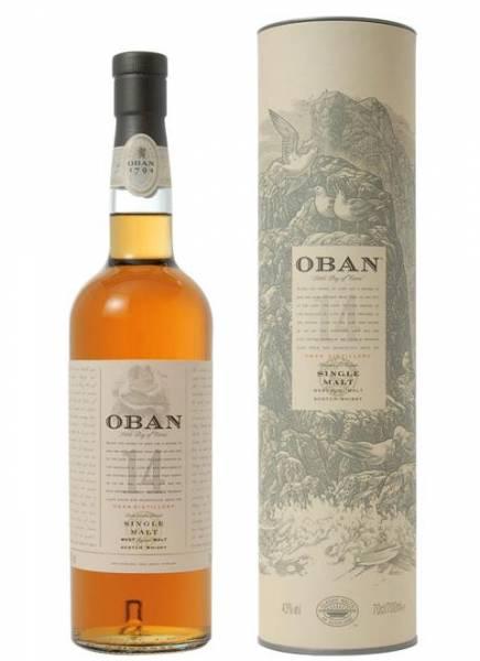 Oban 14 Jahre 0,7 Liter