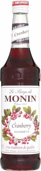 Monin Cranberry Sirup 0,7 Liter
