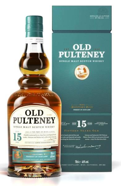 Old Pulteney 15 Jahre Single Malt Whisky 0,7l