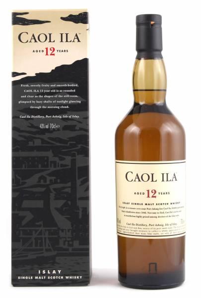 Caol Ila 12 Jahre Islay Single Malt Scotch Whisky