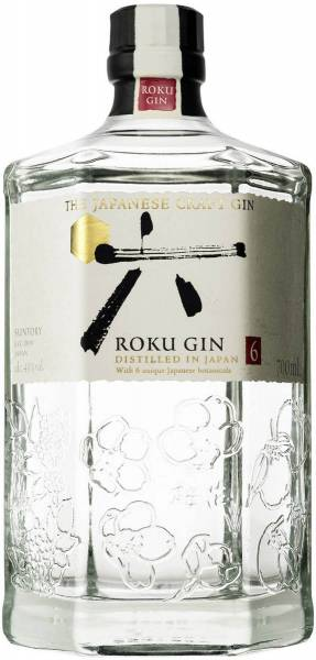 Roku Gin Japanese Craft 0,7 Liter