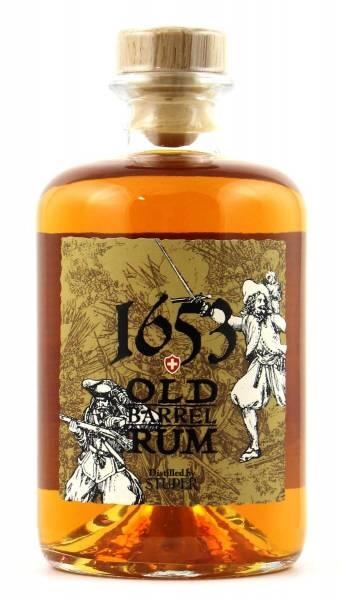 Studer 1653 Old Barrel Rum Swiss Handabfüllung 0,5l