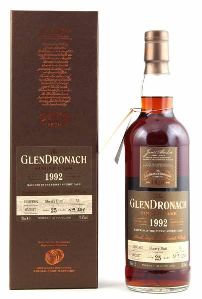 GlenDronach 1992 #52 25 Jahre Batch 15 0,7l